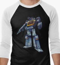 Masterpiece Soundwave (Transparent Background) Men's Baseball ¾ T-Shirt