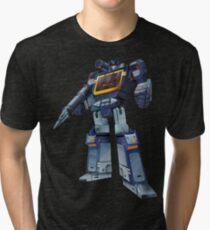Meisterwerk Soundwave (Transparenter Hintergrund) Vintage T-Shirt