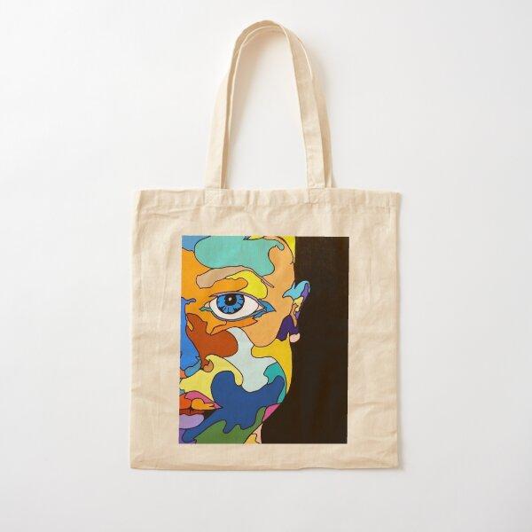 Face The Face Cotton Tote Bag