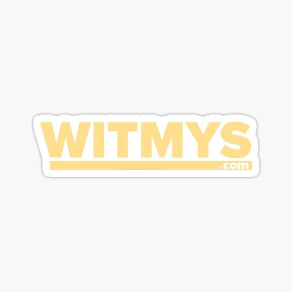 Witmys.com Sticker