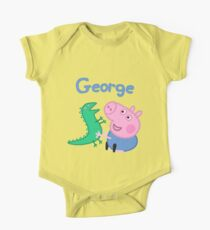 George Pig One Piece - Short Sleeve