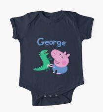 George Pig One Piece - Short Sleeve