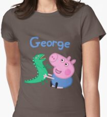 George Pig Women's Fitted T-Shirt