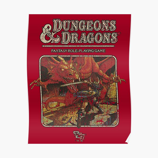 Dungeons & Dragons 1974 Poster