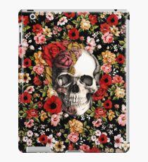 In bloom floral skull iPad Case/Skin