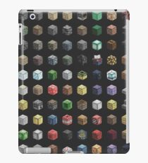 100 Minecraft Blocks iPad Case/Skin