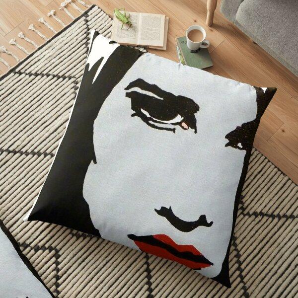 Neve C. Bold Face Floor Pillow