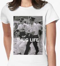 Throwback - Bernie Sanders Womens Fitted T-Shirt