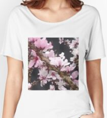 Pink Spring  Women's Relaxed Fit T-Shirt