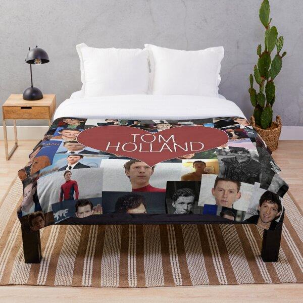 tom holland blanket/stickers Throw Blanket