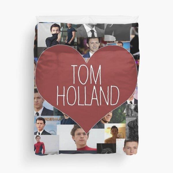 tom holland blanket/stickers Duvet Cover