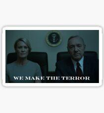We Make The Terror Sticker