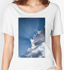 Blue Sky and Sunbeams Women's Relaxed Fit T-Shirt