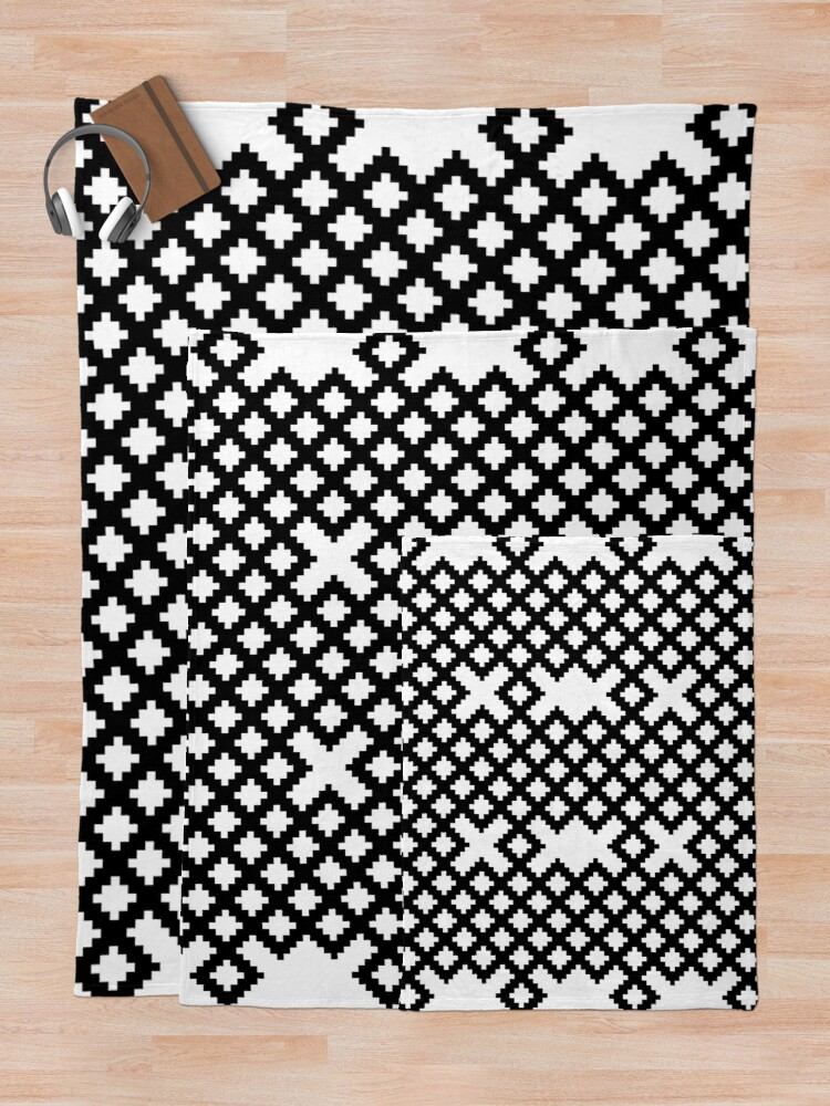 Alternate view of Pattern Throw Blanket