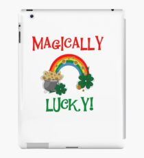 St. Paddys Magically Lucky iPad Case/Skin