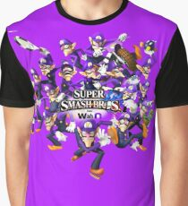 Super WAH Bros. Graphic T-Shirt