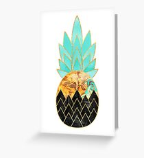Precious Pineapple 3 Greeting Card