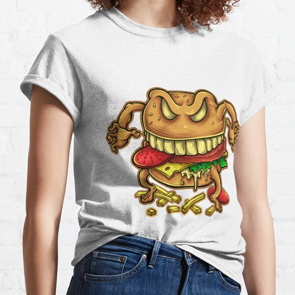 Curse of the burger is real Classic T-Shirt