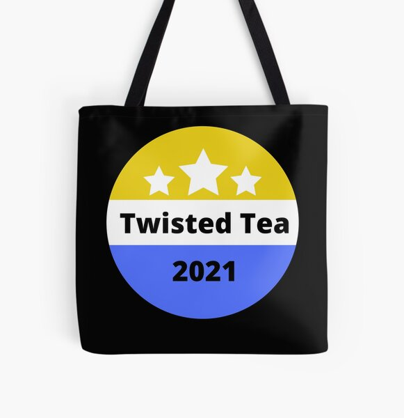 twisted tea 2021 funny twisted tea enven mike tyson t-shirt All Over Print Tote Bag