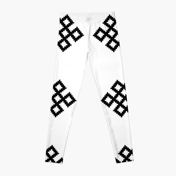 Karma Knot Pattern Leggings