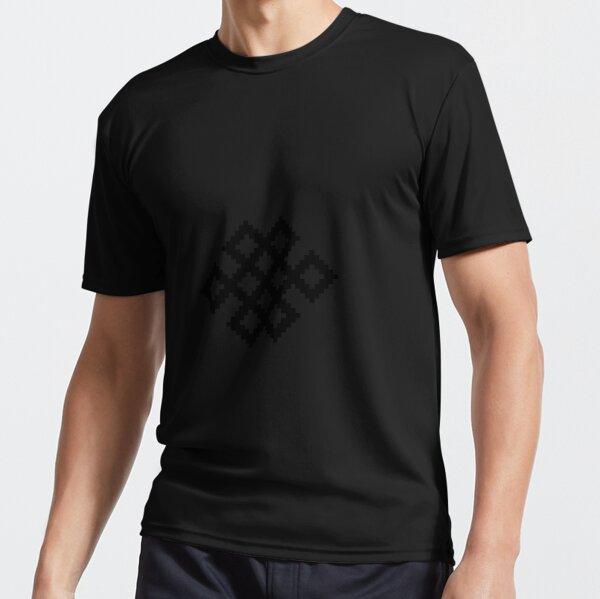 Karma Knot Pattern Active T-Shirt