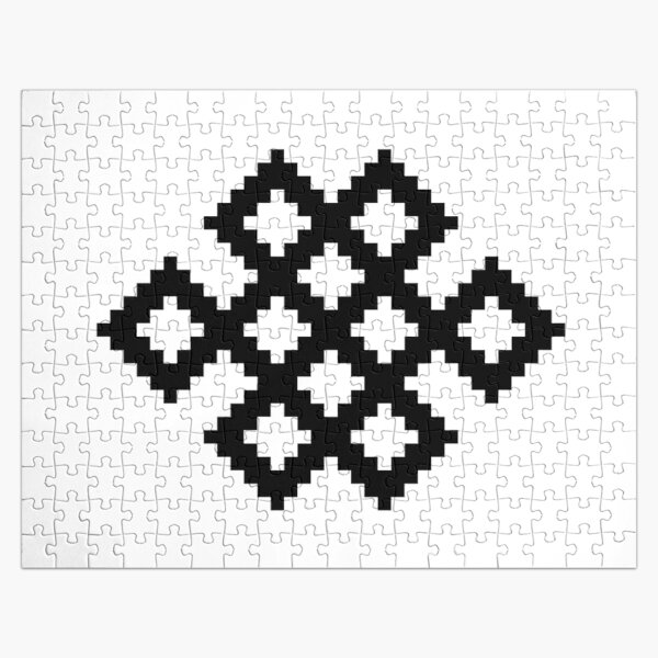 Karma Knot Pattern Jigsaw Puzzle