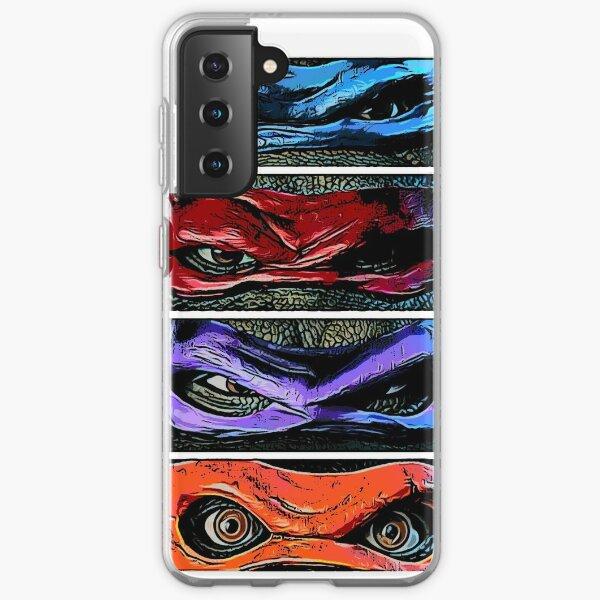 teenage mutant ninja turtles Samsung Galaxy Soft Case