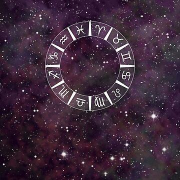 Zodiac Astrology Calendar by Mooshe