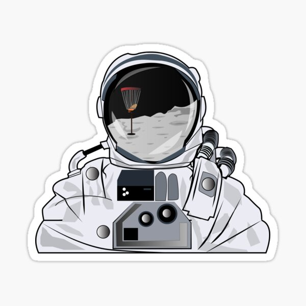 Rocket Man Sticker