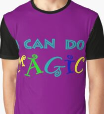 I can do magic, retro, playful, colourful Graphic T-Shirt