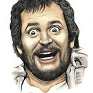 Kenny Everett by Margaret Sanderson