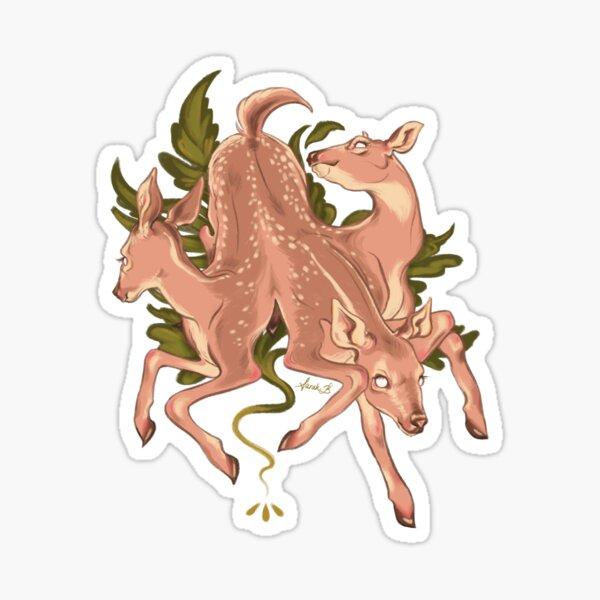 CERBERUS DEER Sticker