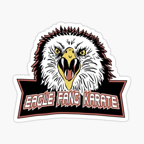 Karate colmillo de águila Pegatina