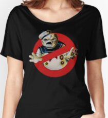 Bustin' Ghosts : The Marshmallow Women's Relaxed Fit T-Shirt