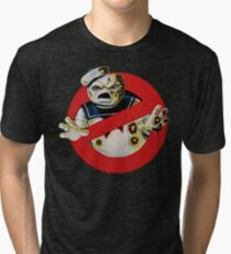 Bustin' Ghosts : The Marshmallow Tri-blend T-Shirt