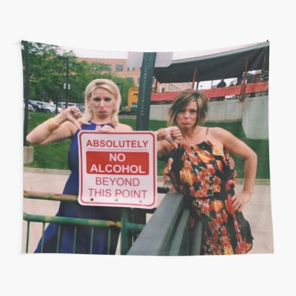 Dance Moms Christie and Kelly Poster Tapestry