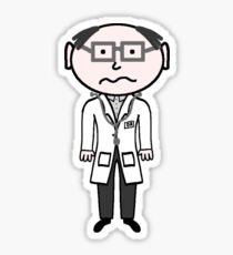 Doctor Geek Sticker