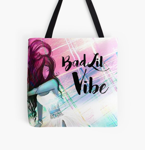 Bad Lil Vibe All Over Print Tote Bag