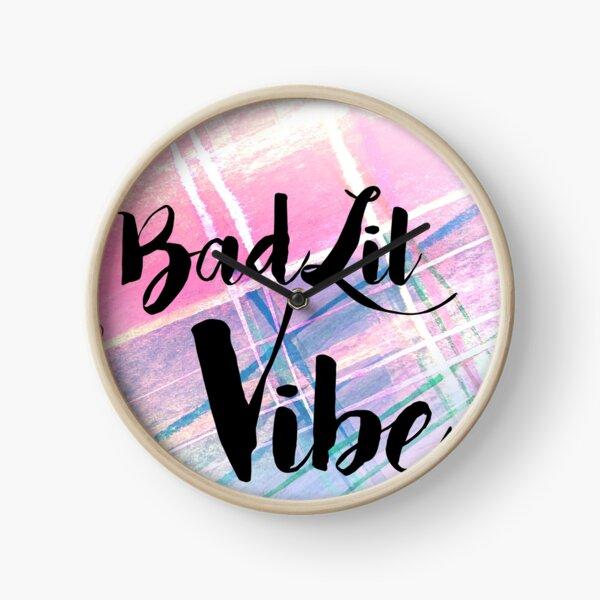 Bad Lil Vibe Clock