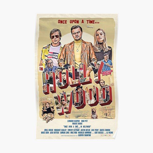 Il était une fois ... l'affiche du film Hollywood Poster