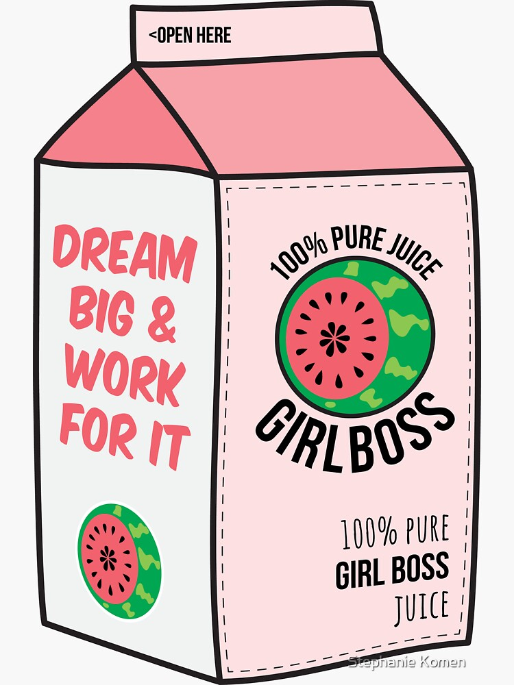 #girlboss juice by s3xyglass3s