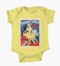 Vintage film history French art nouveau Jules Cheret One Piece - Short Sleeve