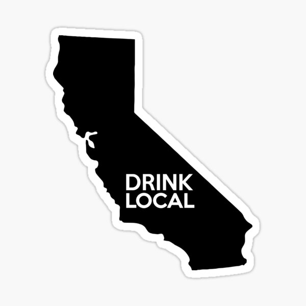 San Francisco Giants Plain California CA State Pride Decal Sticker