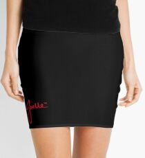 Joelle Signature (Red) Mini Skirt
