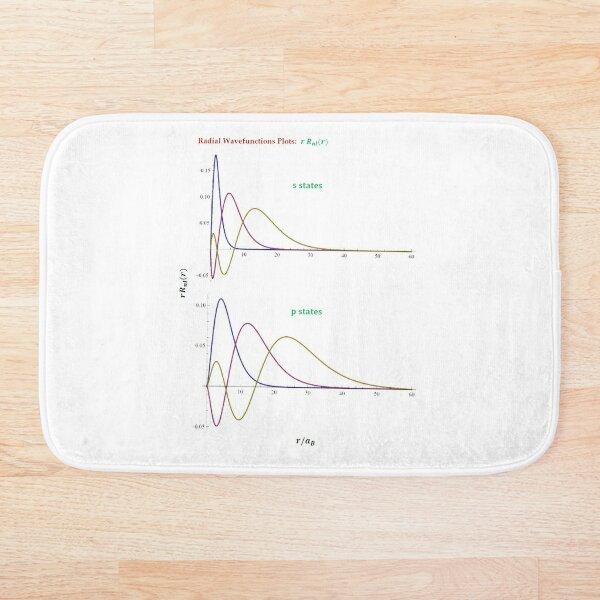 Hydrogen Atom Wave Functions Bath Mat