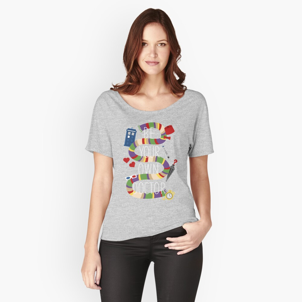 Be Your Own Doctor Women's Relaxed Fit T-Shirt Front