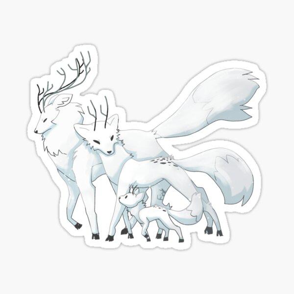 Deerfox Sticker