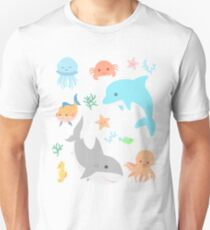 Creatures of the Sea Unisex T-Shirt