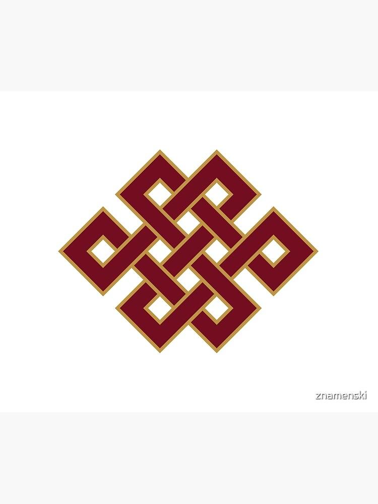 Buddhist Endless Knot by znamenski