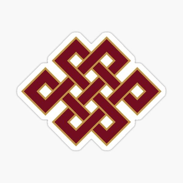 Buddhist Endless Knot Sticker
